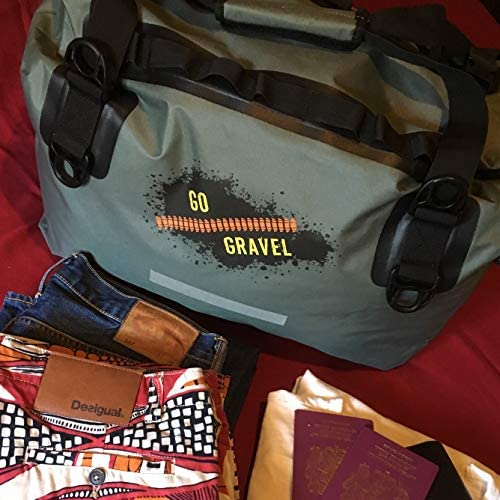 GoGravel Little Karoo 40L compression waterproof Duffel Bag for Adventure Motorcycle Touring