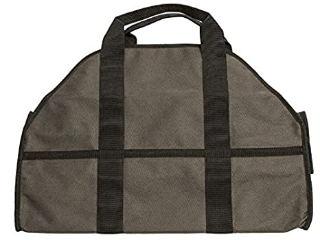 Egooz Firewood Log Carriers /& Holders Heavy Duty Canvas Firewood Tote Fireplace Log Carrier Egooz Techology Enterprise Limited Brown