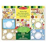 Melissa & Doug Sticker Pad - Make-a-Meal, 225+ Food Stickers