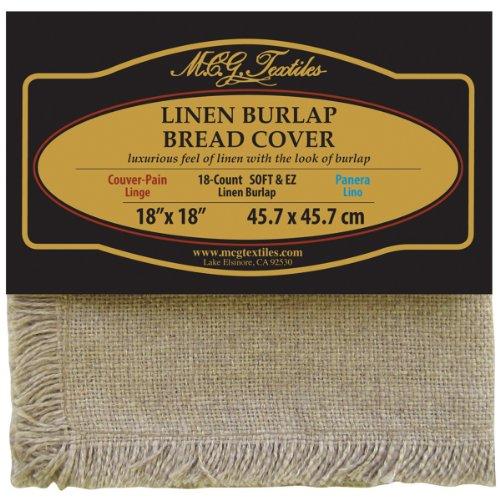 M C G Textiles Burlap 18 Inch Natural