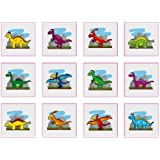 48 x DINOSAUR Children's Temporary Tattoos - Great for Party Bags