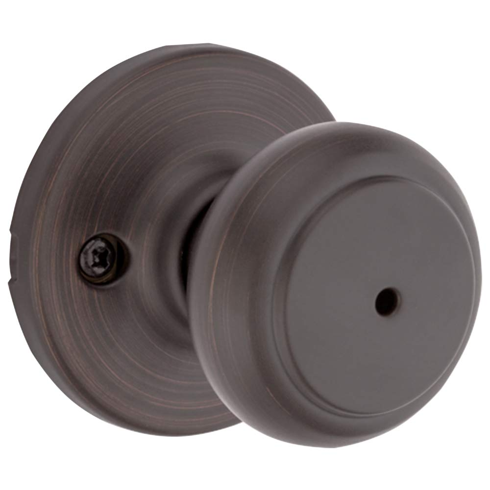 Kwikset 300CV 11P CP 93001-868 Cove Bed and Bath Knob in Venetian Bronze