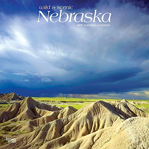 2019 Nebraska Wild and Scenic Wall Calendar, More U.S. States by BrownTrout