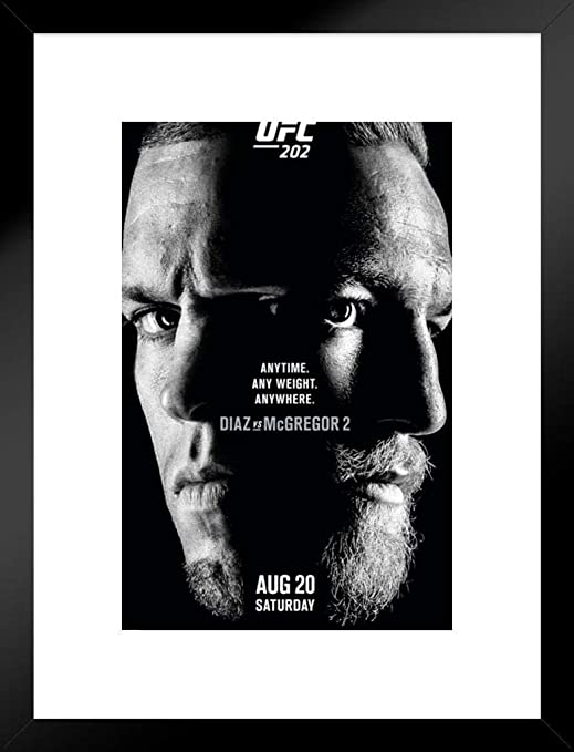 Nate Diaz UFC Poster FREE US SHIPPING