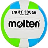 Image of Molten MS240-3 Light Touch Volleyball, Red/White/Blue