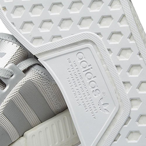 adidas Grey Silver mens runner originals shoes Mtllc sneakers NMD trainers wAzOr0qAn