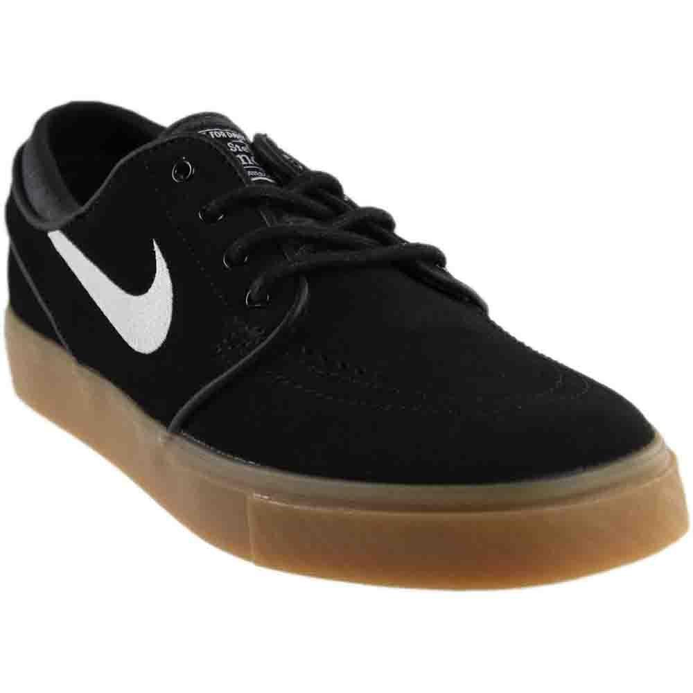Nike Zoom Stefan Janoski Herren Skateboardschuhe  41 EU Schwarz / Wei? / Braun (Black / White-gum Light Brown)
