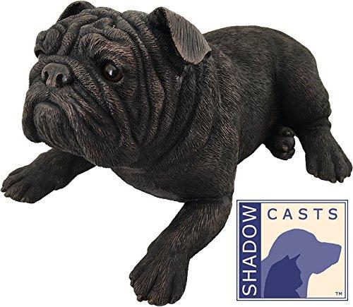 Ever My ShadowCast Bronze Bulldog Dog Pet Urn by Ever My Pet