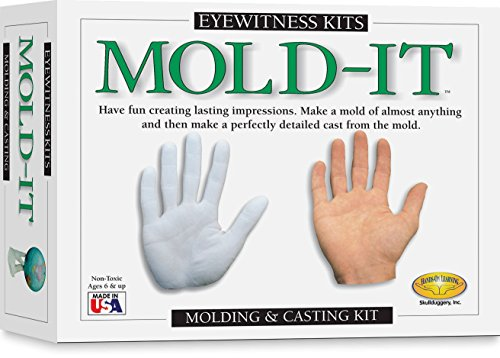 (Skullduggery Eyewitness Kits Mold-It Perfect Cast Mold Cast, Display and Learn Craft Kit)