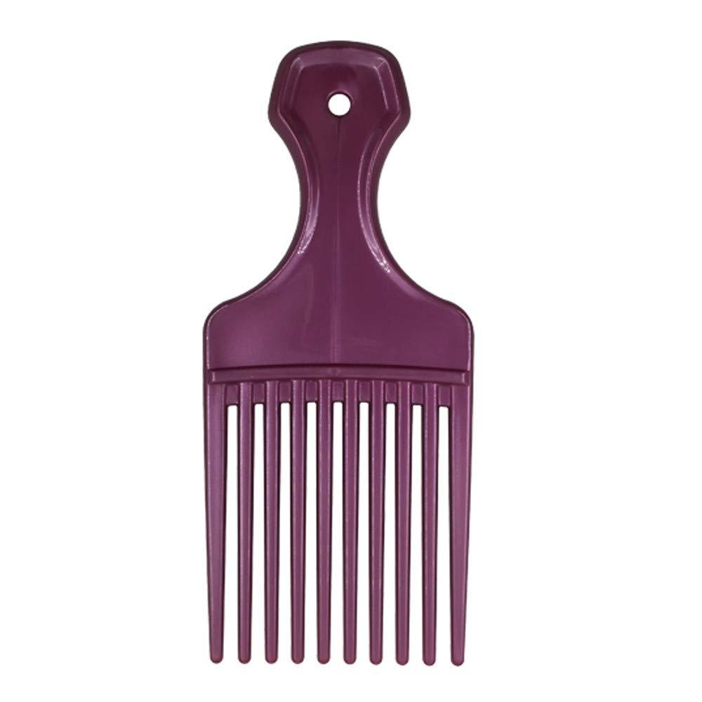 WIllsa Shower Magic Hair Tamer Styling Comb Plastic Fine Teeth Hair Brush Adults Kids