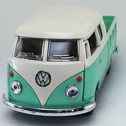 1963 Vw Bus (1963 Volkswagen VW Classical BUS DOUBLE CAB Pick Up Kinsmart 1:34 DieCast Model Toy Car Collectible)