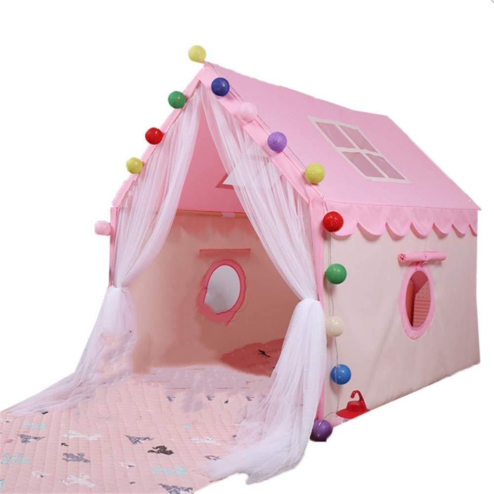 【超安い】 小屋のベッドのトンネルのテント B07QHTSFMZ ピンク)、子供のベッドのテント妖精の演劇場の演劇のテントの寝室の祝祭の装飾のテント (色 ピンク : ピンク) ピンク B07QHTSFMZ, 佐勘金物店:98174d31 --- a0267596.xsph.ru