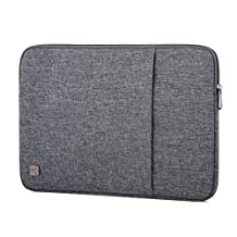 "CAISON Water-Resistant 15.6 inch Laptop Sleeve Case Bag Pouch For 15.6"" Notebook Computer / 15.6"" Dell Inspiron 15 / 15.6"" Lenovo Ideapad Y700 ThinkPad P51 T570 E570 / 15.6"" ASUS Republic of Gamers"