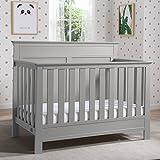 Serta Fall River 4-in-1 Convertible Crib, Grey
