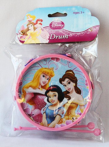 SOLD in 12 Pieces - New Disney Princess Toys Mini Drum Set 2