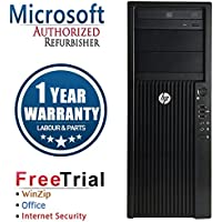 HP Z210 WORKSTATION Intel XEON E3-1240 3.3G,12G DDR3,2TB HDD x2,DVDRW,Quadro NVS295,WIN10Pro64 (Certified Refurb)