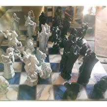 Harry Potter Vintage 2000 Chess Set From Sorcerer's Stone Film Release