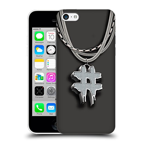 Official Been Trill Hashtag Silver Bling Blings Hard Back Case for Apple iPhone 5c