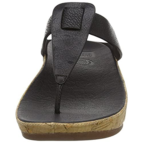 e90034f40 FitFlop Women s Ibiza Cork Flip Flop well-wreapped - appleshack.com.au