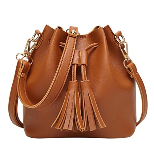 For Small Girls By Women Handbag Cheap Brown Leather Brown Bag Esailq And Shoulder xaqYOCwa