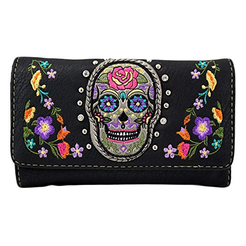 Embroidered Sugar Skull...