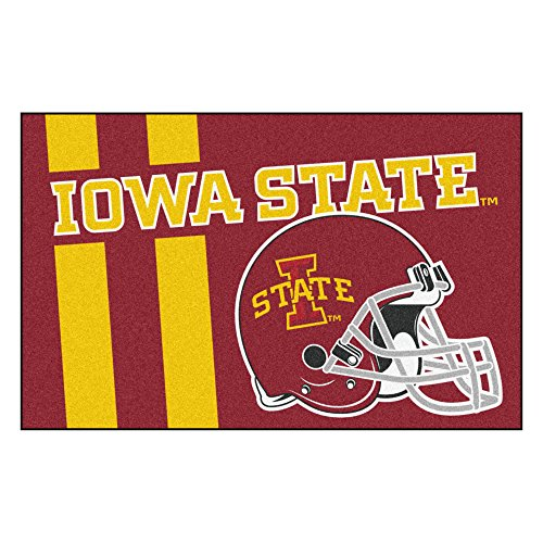 - FANMATS 18745 Iowa State Uniform Inspired Starter Rug