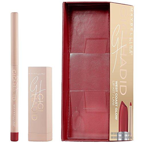 Maybelline New York Gigi Hadid Lipstick and Lip Liner Kit, Lani