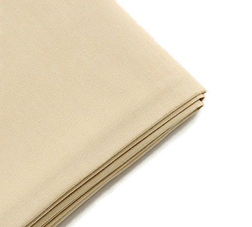 Light Khaki cotton Fabric Tissue Patchwork Quilting Sewing Cloth Crafts Home Textile Bedding Size: 50x160 cm