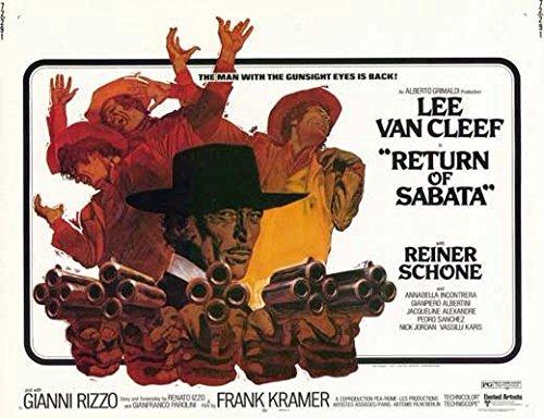 Render of Sabata POSTER Movie (1972) Style A 11 x 14 Inches - 28cm x 36cm (Lee Van Cleef)(Reiner Schöne)(Giampiero Albertini)(Ignazio Spalla)(Annabella Incontrera)
