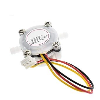 YFS401 - Medidor de flujo de agua y café con sensor y contador de flujos,