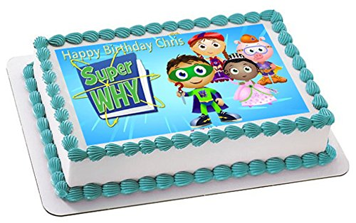 SUPER WHY (Nr3) - Edible Cake Topper -