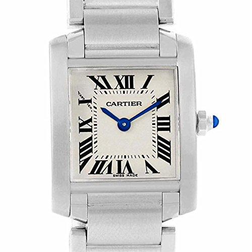 Cartier Tank Francaise quartz womens Watch W51008Q3 (Certified Pre-owned)