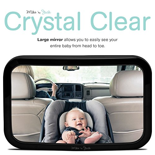 Mike N Jack ULTRA STABLE Rear Facing Car Seat Mirror