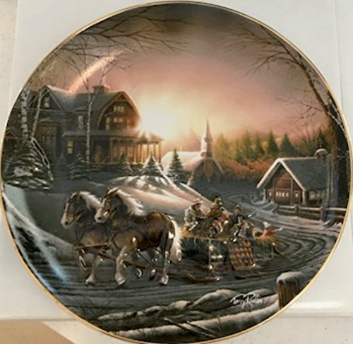 Limited Edition Plate (Terry Redlin Pleasures of Winter Limited Edition Plate 8.25