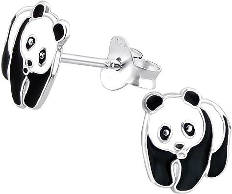 boucle d'oreille panda enfant fille