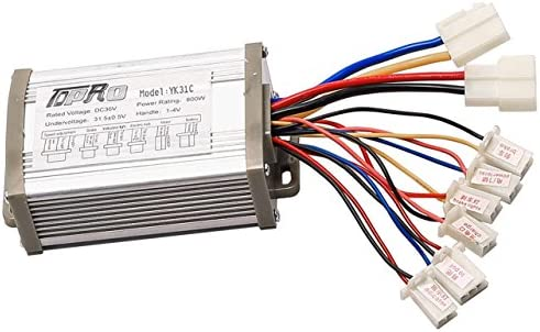 Details about  /Compact Durable Brush Motor Controller for Electric Scooter Bicycle Accessories