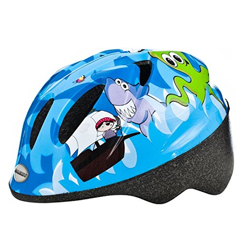 Raleigh Kid's Rascal Pirate Cycle Helmet – Blue, 44-50 cm Review