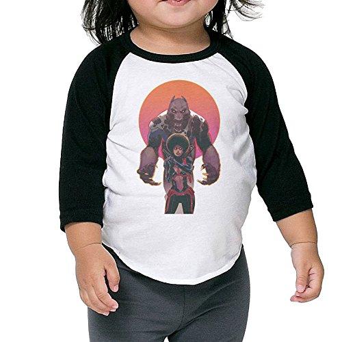 [Cayonom Child Kids Iron Fist Misty Knight Baseball Jersey T-Shirt 2 Toddler] (Iron Fist Costumes For Kids)