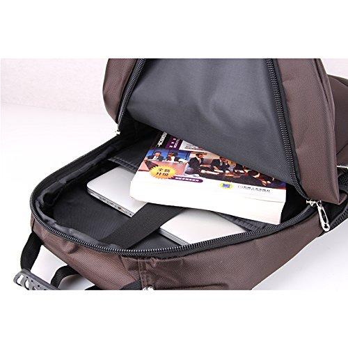 chuwanglin Fashion Männlich Rucksack 39,6cm Wasserdicht Herren Travel Bag Casual groß Kapazität Schule Taschen Business Rucksäcke