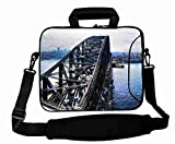 Customized with ( City bridge water ) Shoulder Bag Suitalbe Lady's (10 Inch) For 9.7