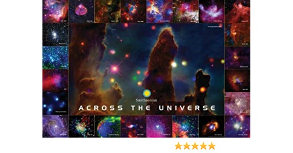 ACROSS THE UNIVERSE 24x36 GALAXY SPACE STARS 241210 SMITHSONIAN POSTER