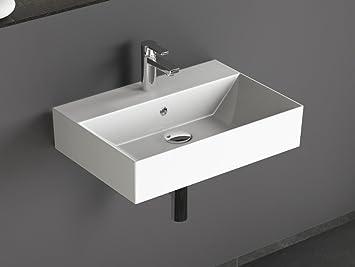 Aqua Bagno KS.60 Design Waschbecken/Aufsatzbecken 60x42cm Keramik ...