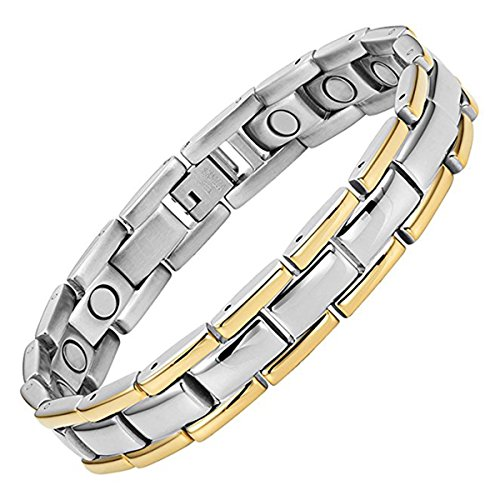 Jeracol Magnetic Therapy Bracelets Arthritis Carpal Tunnel Pain Relief,...
