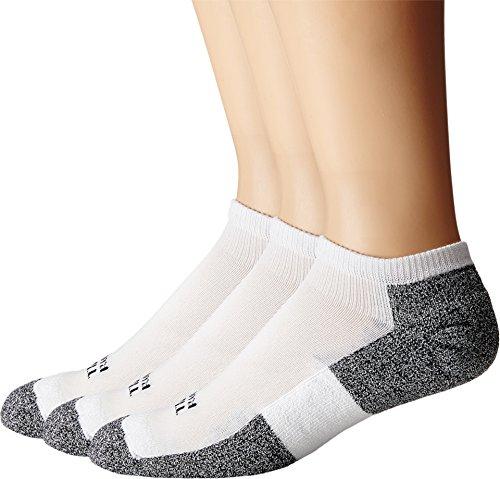 (Thorlos Men's Lite Running Micro-Mini 3-Pair Pack White/Black Large)