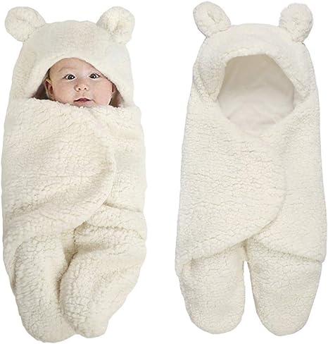 Miyanuby Saco de Dormir para Bebés, Suave y Cálido Franela de Invierno Sacos para dormir Niña y Niño, Manta para Bebé Recién Nacido 0 a 6 Meses: Amazon.es: Bebé