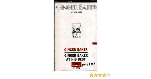 GINGER BAKER - GINGER BAKER AT...