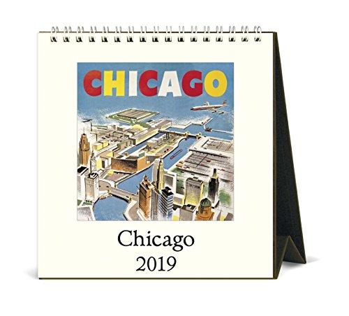 Easel Calendar 2005 - Cavallini Papers & Co., Inc. CAL19-24 Desk Calendar Chicago, Multi