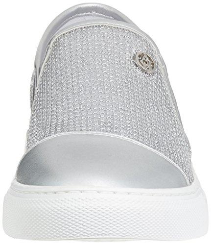 9251957p583 Jeans Trainers White Women's Armani Argento Tnwqxzz