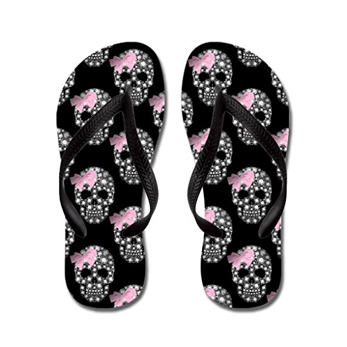 Sandals Party Black Slippers Kids Skulls Diva Flip Flops Unisex Flip Flops Pool Lplpol and Shoes Diamond for Beach Adult OTaUqn8F