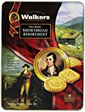 Walkers Shortbread Pure Butter Shortbread Robert Burns Tin (Assorted), 10.6-oz.